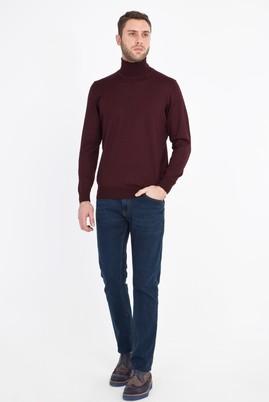 Erkek Giyim - PETROL 52 Beden Denim Pantolon