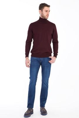 Erkek Giyim - MAVİ 58 Beden Denim Pantolon