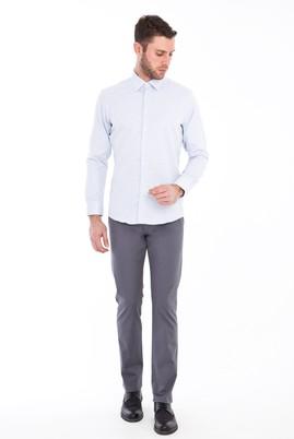 Erkek Giyim - AÇIK GRİ 50 Beden Spor Saten Pantolon