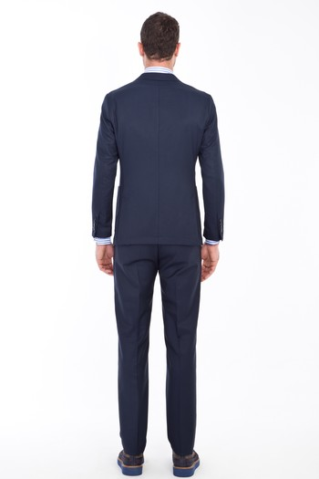 Erkek Giyim - Slim Fit Yıkanabilir Takım Elbise