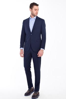 Erkek Giyim - KOYU MAVİ 54 Beden Klasik Takım Elbise