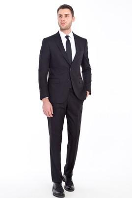 Erkek Giyim - SİYAH 46 Beden Klasik Takım Elbise