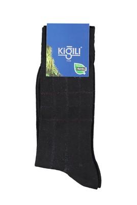 Erkek Giyim - BEJ 42 Beden Bambu Desenli Çorap