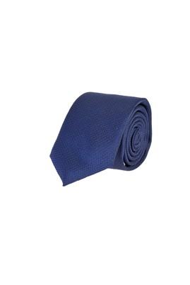 Erkek Giyim - LACİVERT 165 Beden İnce Desenli Kravat