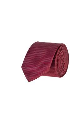 Erkek Giyim - AÇIK GRİ 165 Beden İnce Desenli Kravat