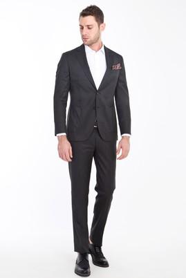 Erkek Giyim - ANTRASİT 46 Beden Slim Fit Yıkanabilir Takım Elbise