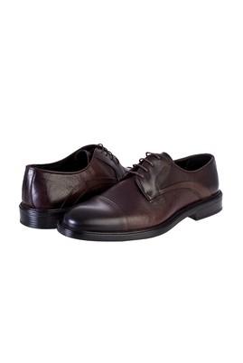 Erkek Giyim - KAHVE 45 Beden Bağcıklı Klasik Ayakkabı