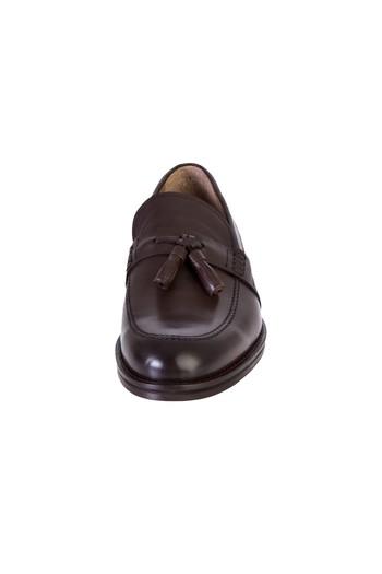 Erkek Giyim - Püsküllü Klasik Deri Ayakkabı