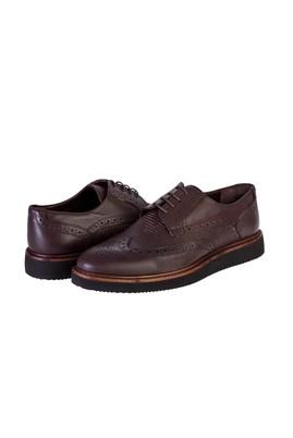 Erkek Giyim - KAHVE 41 Beden Bağcıklı Casual Ayakkabı