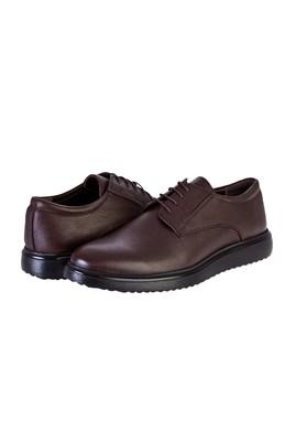 Erkek Giyim - KAHVE 43 Beden Bağcıklı Casual Ayakkabı