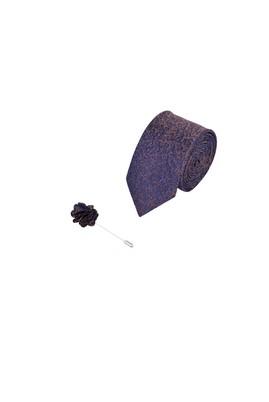 Erkek Giyim - KUM 165 Beden 2'li Kravat Yaka İğnesi Set