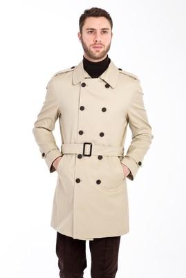 Erkek Giyim - BEJ 48 Beden Spor Trençkot