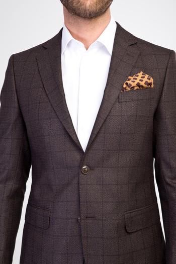 Erkek Giyim - Klasik Kareli Ceket