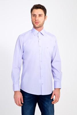 Erkek Giyim - LİLA 3X Beden Uzun Kol Klasik Gömlek