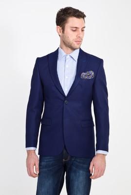 Erkek Giyim - LACİVERT 54 Beden Regular Fit Ceket