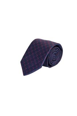 Erkek Giyim - VİŞNE  Beden Desenli Kravat