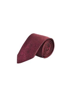 Erkek Giyim - ŞARAP BORDO  Beden Desenli Kravat