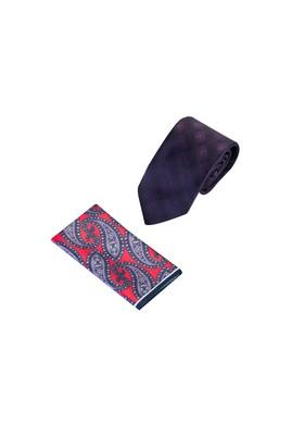 Erkek Giyim - MOR  Beden 2'li Kravat Mendil Set