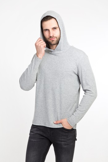 Kapüşonlu Slim Fit Sweatshirt