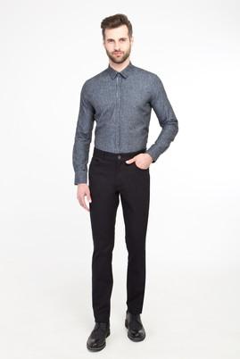 Erkek Giyim - SİYAH 54 Beden Spor Desenli Pantolon