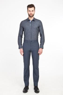 Erkek Giyim - PETROL 50 Beden Spor Desenli Pantolon