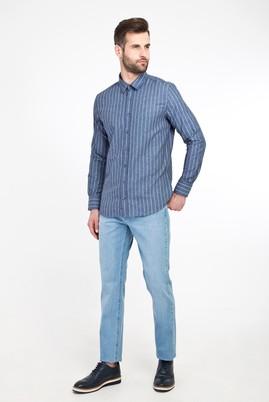 Erkek Giyim - AÇIK MAVİ 46 Beden STOK OUTLET DENİM PANT