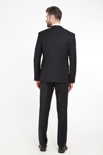 Erkek Giyim - Slim Fit Bio Parfume Yünlü Takım Elbise