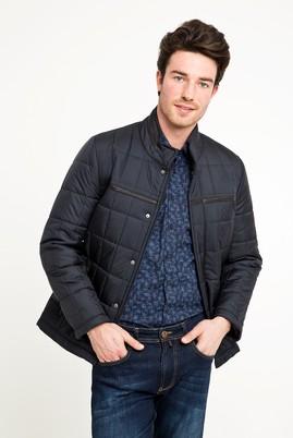 Erkek Giyim - SİYAH XXL Beden Slim Fit Kapitone Mont