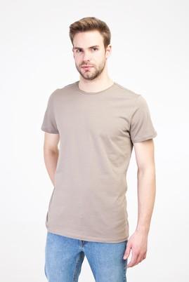 Erkek Giyim - KUM M Beden Bisiklet Yaka Slim Fit Tişört
