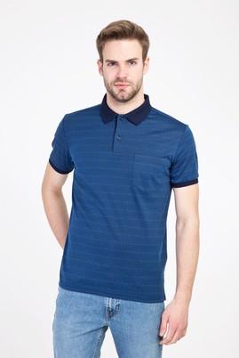 Erkek Giyim - İNDİGO S Beden Polo Yaka Regular Fit Merserize Tişört