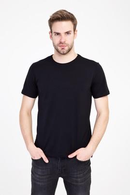 Erkek Giyim - SİYAH XL Beden Bisiklet Yaka Slim Fit Tişört