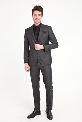 Erkek Giyim - MARENGO 52 Beden Klasik Desenli Takım Elbise