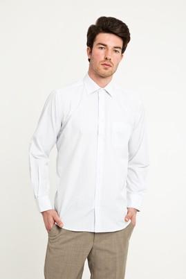 Erkek Giyim - AÇIK MAVİ XXL Beden Uzun Kol Klasik Ekose Gömlek