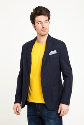 Erkek Giyim - Lacivert 48 Beden Kuşgözü Ceket