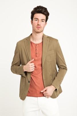 Erkek Giyim - VİZON 54 Beden Yıkamalı Spor Ceket