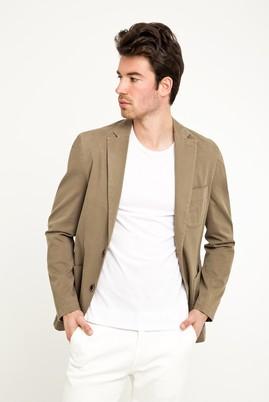 Erkek Giyim - VİZON 56 Beden Yıkamalı Spor Ceket