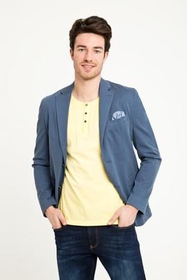 Erkek Giyim - MAVİ 46 Beden Yıkamalı Spor Ceket