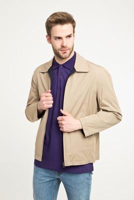 Erkek Giyim - Lacivert 58 Beden Mevsimlik Çift Taraflı Mont