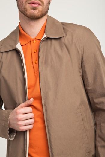 Erkek Giyim - Çift Taraflı Mevsimlik Mont