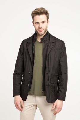 Erkek Giyim - Siyah 48 Beden Mevsimlik Mont