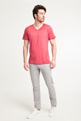 Erkek Giyim - AÇIK GRİ 48 Beden Slim Fit Spor Pantolon