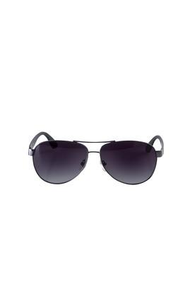 Erkek Giyim - ORTA FÜME  Beden UV Korumalı Metal Çerçeveli Güneş Gözlüğü
