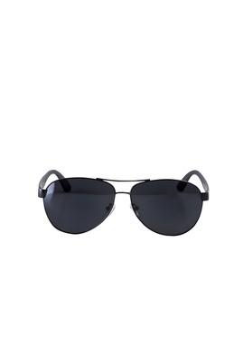 Erkek Giyim - SİYAH  Beden UV Korumalı Metal Çerçeveli Güneş Gözlüğü