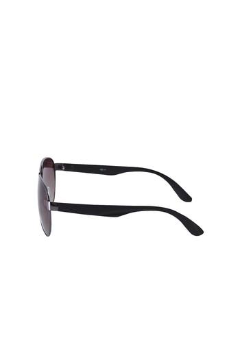 Erkek Giyim - UV Korumalı Metal Çerçeveli Güneş Gözlüğü