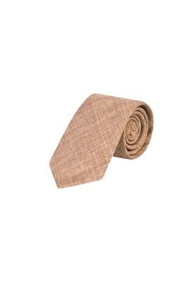 Erkek Giyim - CAMEL  Beden Desenli Yünlü Kravat