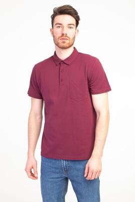 Erkek Giyim - BORDO XXL Beden Polo Yaka Regular Fit Tişört