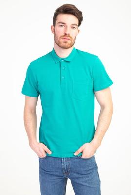 Erkek Giyim - ACIK YESIL 3X Beden Polo Yaka Regular Fit Tişört