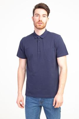 Erkek Giyim - LACİVERT S Beden Polo Yaka Regular Fit Tişört