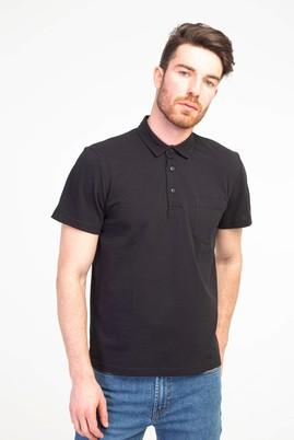 Erkek Giyim - SİYAH S Beden Polo Yaka Regular Fit Tişört