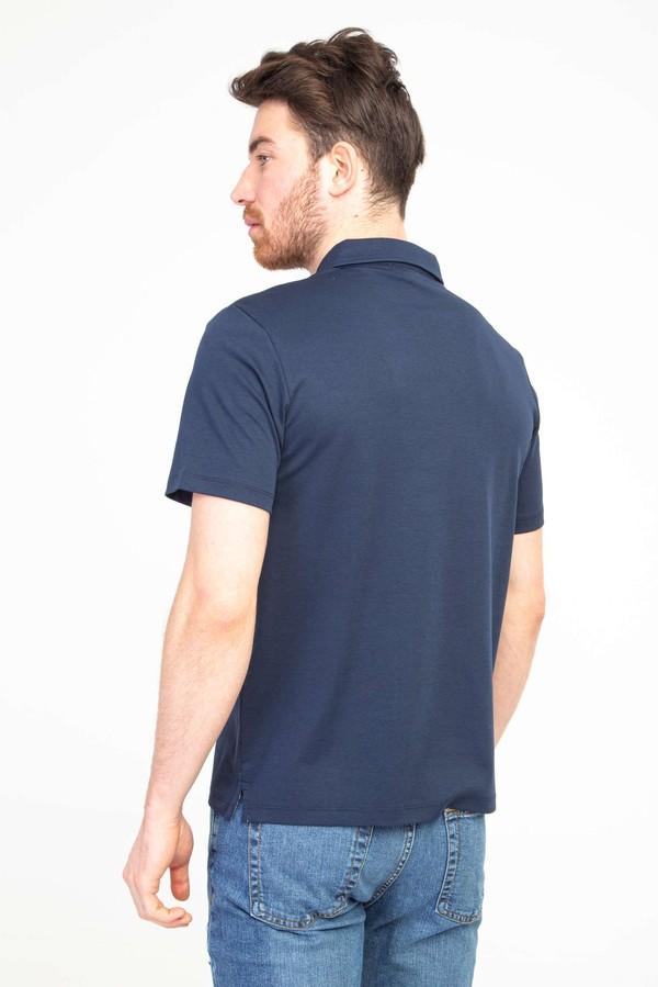 Polo Yaka Regular Fit Fermuarlı Tişört